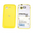 "isa T35 Android 2.3.5 GSM Bar Phone w/ 3.5"" Capacitive Screen, Dual-Band and Wi-Fi - White + Yellow"