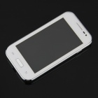 "Mini 7100 Android 2.3.5 GSM Bar Phone w/ 4.0"" Capacitive Screen, Quad-Band and Wi-Fi - White"
