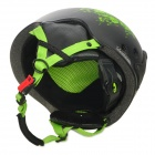 Lua MS-88 Stylish Outdoor Sports PC + EPS Skiing Capacete - Preto