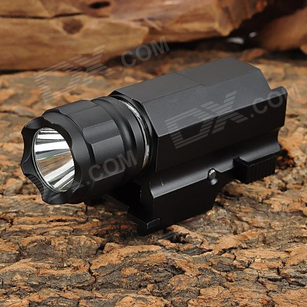 P10 150lm 2-Mode White Flashlight w/ Cree XP-G R5 for 21mm Rifle - Black (1 x CR123A)