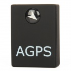 A6 Mini Rechargeable Quad-Band GSM / GPRS Tracker w/ SIM - Black