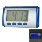 "2.2"" LCD Blue Backlit Talking Time Alarm Clock (English)"