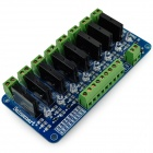 8-Channel 5V Solid State Relay Module - Blue + Black + Green (250V / 2A)