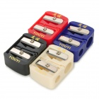 YOUYI Cosmetic Pencil Sharpener - Red + Blue + Beige + Black (4PCS)