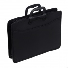 "Protective Cotton + Nylon Hand Bag for 14~15"" Laptop / Tablet PC - Black"