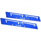 XB-714 Windscreen Wiper Aluminum Pressurizer - Blue (2 PCS)