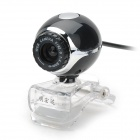 MHD-ED-01-HEISE Compact Globular Style 3.0MP Camera for Laptop / Tablets / Computer - Black + White