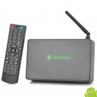 Jesurun A18 Android 4.2.2 Dual Core TV Box Media Player w/ R /L / HDMI / Optical / USB Host - Black