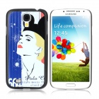 ENKAY Clown Pattern Protective Plastic Hard Back Case for Samsung Galaxy S4 i9500 - Multicolored