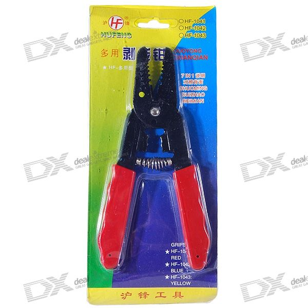 Cable Cutter and Stripper Steel Tool
