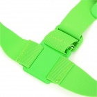 PANNOVO Front Chest Elastic Belt Shoulder Strap Mount for Gopro Hero 4/2 / Hero3/3+/SJ4000 - Green