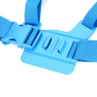 PANNOVO Front Chest Elastic Belt Shoulder Strap Mount for Gopro Hero 4/2 / Hero3/3+/SJ4000 - Blue