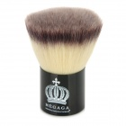 MEGAGA Portable Crown Pattern Mushroom Shaped Makeup Blush Brush - Black