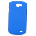 Protective Quicksand Hard PC Back Case for Samsung Galaxy Express i8730 - Dark Blue
