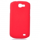 Protective Quicksand PC Back Case for Samsung Galaxy Express i8730 - Red