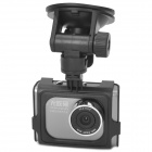 "2"" TFT 5.0MP Wide Angle 4X Digital Zoom Car DVR Video Recorder w/ HDMI / AV-Out - Black"