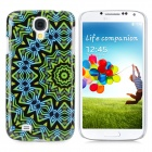 Kaleidoscope Pattern Protective Plastic Hard Back Case for Samsung Galaxy S4 i9500 - Multicolored