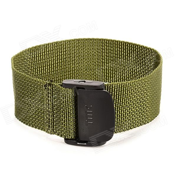 Nylon + PC Hand Band for Gopro Hero 4/ 2 / 3 Wi-Fi Wireless Remote Control - Army Green + Black