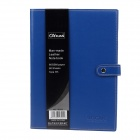 High-quality Professional Artificial Leather Cover Ruled Notebook B5 - Blue