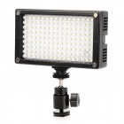 Lishuai 114A Portable 840lm 5600k LED Light-Compensating Lamp for Camera - Black