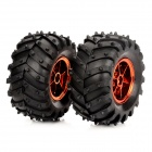 VRS003CR All Terrain 6WD Wheels (120 x 60mm / 2 PCS)