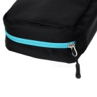 NatureHike Big Capacity Nylon Travel Camping Toilet Articles Wash Bag - Black