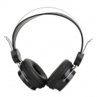 Multi-functional Wireless Headphone w/ TF / FM / Line in - Black + Silver