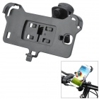 Plastic Bicycle Mount Holder for Samsung Galaxy S4 / i9500 - Black