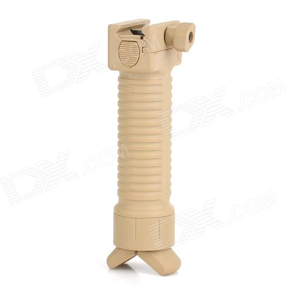 Retractable Mount Hand Grip for 20mm Gun Rail - Sand