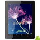 "Q97 9.7"" Capacitive Screen Android 4.1 Quad Core Tablet PC w/ TF / Wi-Fi / Camera - Silver"