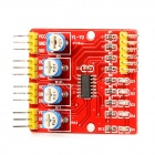 4-Channel Infrared Tracking Sensor Module Line Hunting Sensor - Red