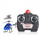 Stylish Aluminum Alloy 2-Channel R/C Helicopter w/ Remote Controller - Blue