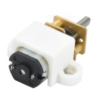 N20 DIY Metal Gear for Car Regulating Motor Reducer - Silver + Golden