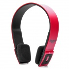 BH23 Wireless Bluetooth V2.1 + EDR Headband Headphone for Laptops / Cellphones + More - Red + Black