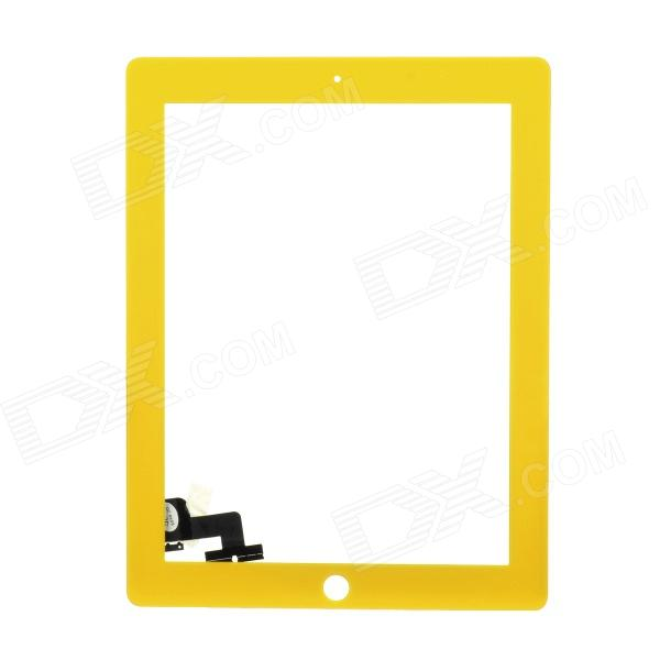 Replacement PVC + Glass Touch Screen for iPad 2 - Yellow