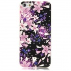IPSKY Rhinestone Embossed Flower Pattern Protective PC Case for Iphone 5 / 5s
