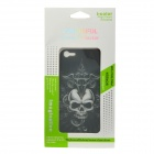i-color Protective 3D Skull Style Back Skin Sticker for iPhone 5 - Black