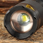 UltraFire SK-98 600lm 3-Mode White Zooming Flashlight w/ Cree XM-L U2 - Black (1 x 18650)