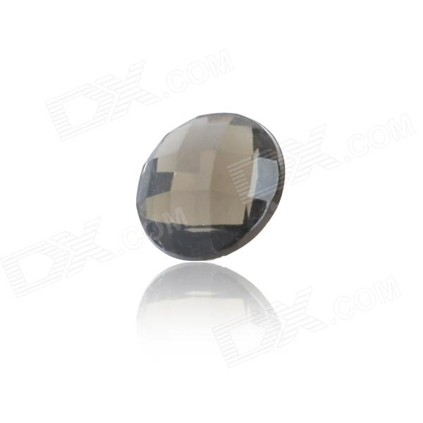 Stylish Crystal Home Button Sticker for Iphone 4S / Iphone 5 - Black процессор other e5450cpu co 771 3 0g l5420 e5440