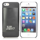 AMT-BRS-021 External 2100mAh Power Battery Charger Back Case for iPhone 5 - Black