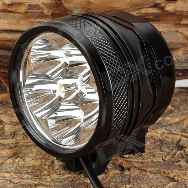 UltraFire XL-56S 1200lm 3-Mode White Bicycle Light w/ Cree XP-G R5 - Black (4 x 18650) ultrafire 600lm 5 mode white light zooming flashlight black 1 x 18650
