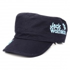 Wolf Claw Pattern Cotton & Polyester Fiber Casual Men's Hat / Cap - Dark Blue