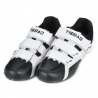 Tiebao TB02-B943 Men's Outdoor Sports Cycling Shoes - Black + White (Pair / Size-44)