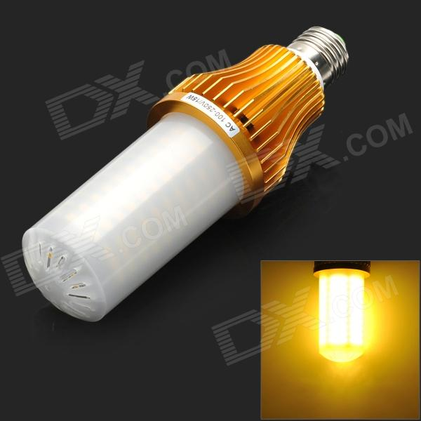 e27 15w 1400lm 3500k 260 smd 3528 led warm white light corn lamp golden white ac 100 250v. Black Bedroom Furniture Sets. Home Design Ideas