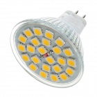 KD-DB-24-5050-MR16-NBG GU5.3 4.5W 240lm 3500K 24-SMD 5050 LED Warm White Light Lamp Bulb - (12V)