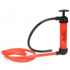 Outdoor Emergency Car Manual Oil Pump / Siphon - Black + Red