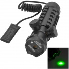 JG011 Green Laser Gun Aiming Sight Scope for 21mm Rail - Black