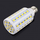 E27 10W 3200K 1000lm 60-SMD 5050 Dimmable Warm White Light Bulb (AC 220V)