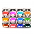 Multicolor (8 ml) - 12-in-1 Nail Art farbiges Glasur-Gel für UV Nail Set