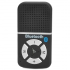Auto Bluetooth V3.0 Freisprecheinrichtung MP3 Speaker Phone w / Car Charger Set - Schwarz
